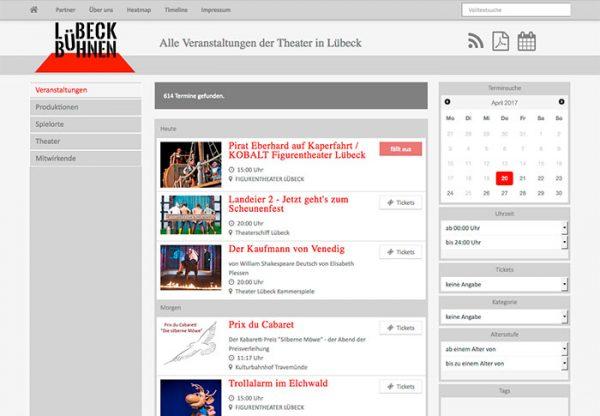 Lübeck</br>Bühnen
